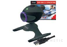 Trust lanza la 360 USB 2.0 SpaceC@m, Imagen 2