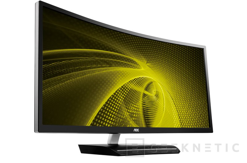 AOC C3583FQ, un monitor gaming de 35 pulgadas con panel curvado y 160Hz, Imagen 1