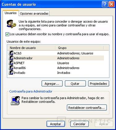 Menús ocultos del sistema operativo Windows XP, Imagen 2
