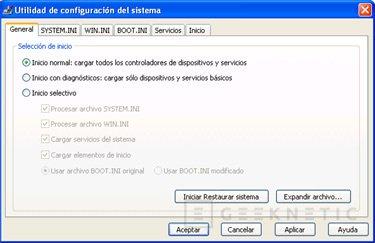 Menús ocultos del sistema operativo Windows XP, Imagen 6