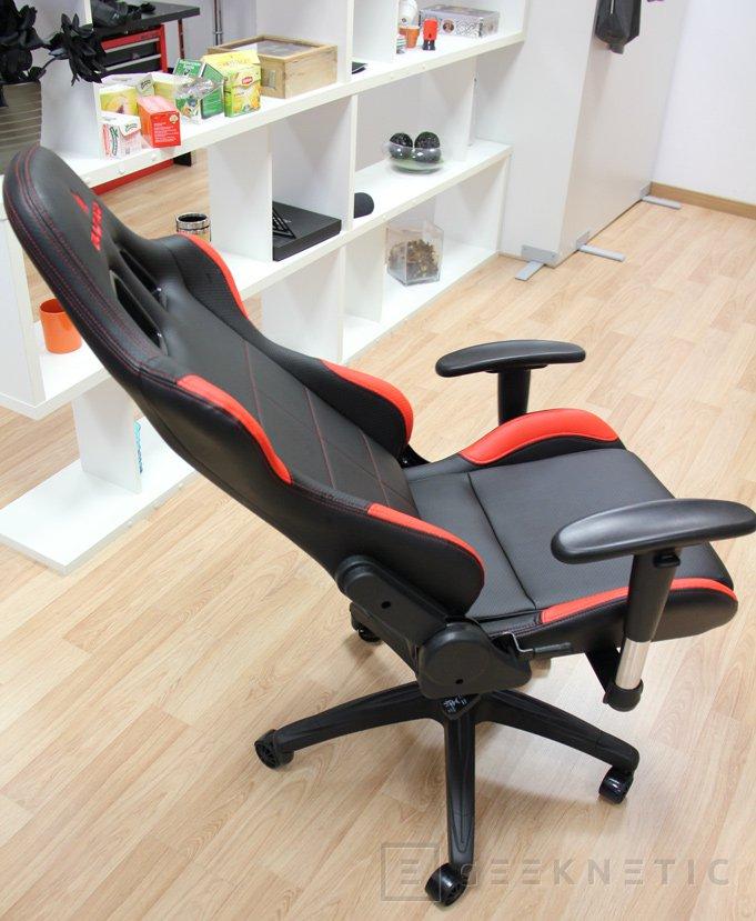 bultaco gt301 negro-rojo silla gaming