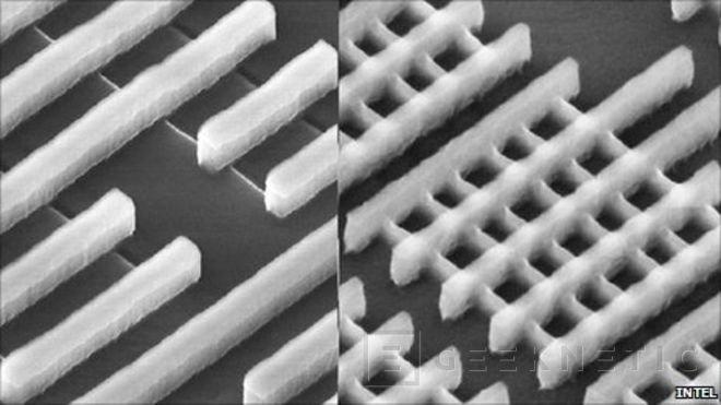 Transistores planos contra transistores Tri-Gate