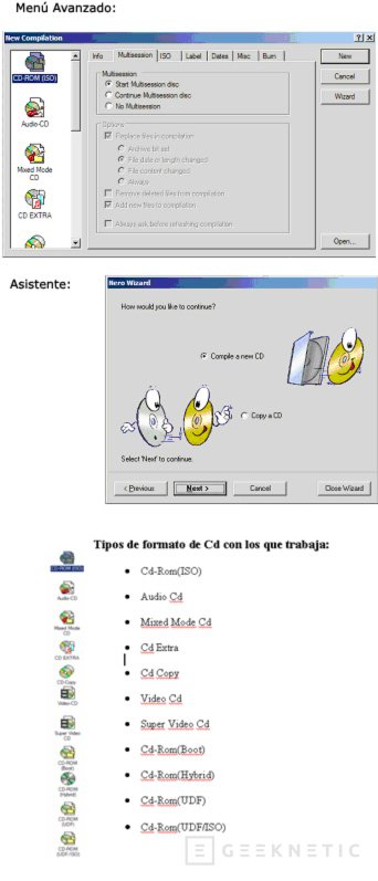 Software para Grabar CD's, Imagen 2