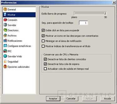 Configuración del eMule 0.27c, Imagen 2